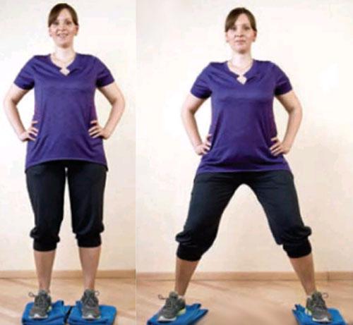 Упражнения для похудения после родов кесарево