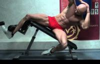 Как накачать косые мышцы пресса