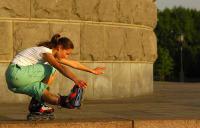 Фитнес на роликах