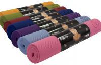 разноцветные коврики для йоги